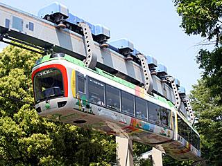 上野動物園モノレール | 私鉄車両カタログ | とれぱ21 | 鉄道総合情報サイト